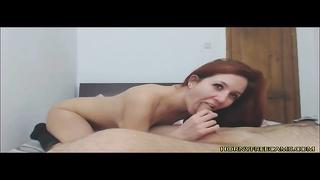 Sexy Amateur Redhead Cam Sex Show