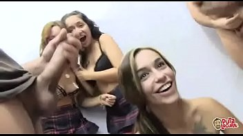 Sexy Latina Bukkake Girls Love Jizz